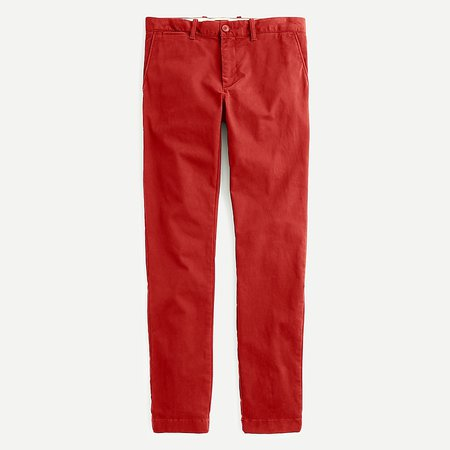 J.Crew: 250 Skinny-fit Pant In Stretch Chino For Men