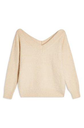 TOPSHOP   V-Neck Sweater   Nordstrom Rack