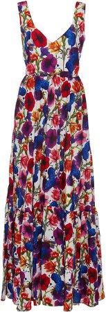 Matilde Floral-Print Silk And Cotton Maxi Dress