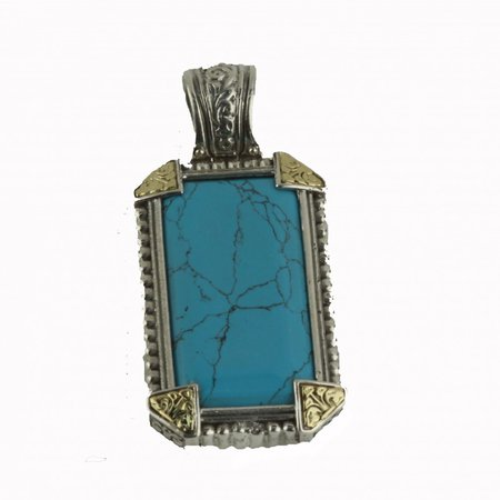 gold teal pendant - Google Search