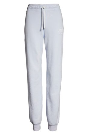 Nike Sportswear Logo Sweatpants white