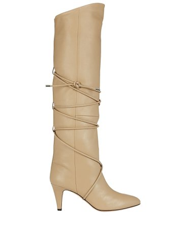 Isabel Marant Lades Leather Knee-High Boots | INTERMIX®