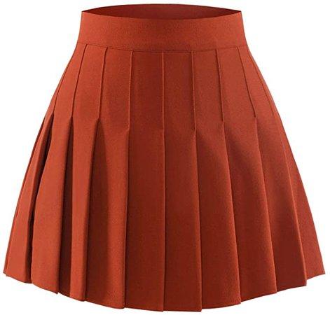 dark orange skirt