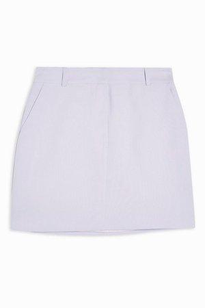 Lilac Pelmet Mini Skirt | Topshop