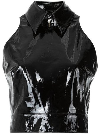 Olympiah patent leather top $451 - Buy AW17 Online - Fast Global Delivery, Price