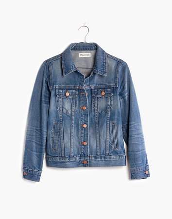 Women's Jean Jacket in Pinter Wash | Madewell