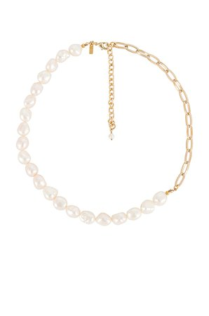 Natalie B Jewelry Hollis Necklace in Gold | REVOLVE