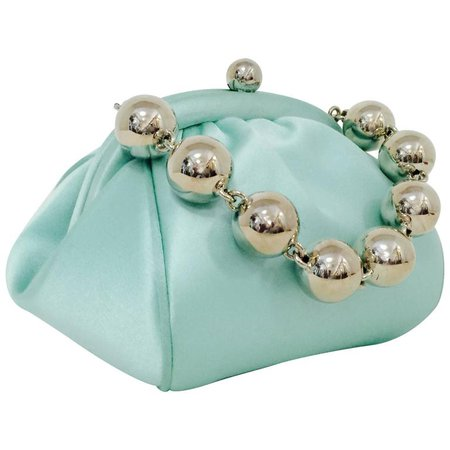 Tiffany and Co. Tiffany Blue Bracelet Evening Bag at 1stdibs
