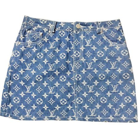 Vintage Louis Vuitton Skirt by maryisnotmyname