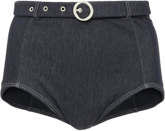 Jean Denim Bikini Briefs
