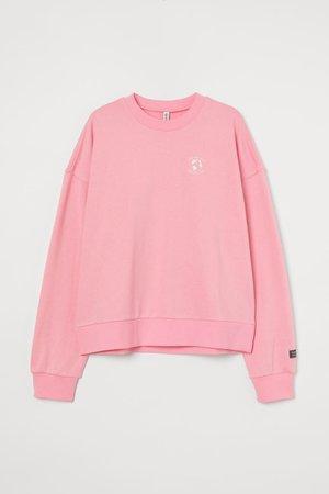 Sweatshirt - Pink - Ladies | H&M CA