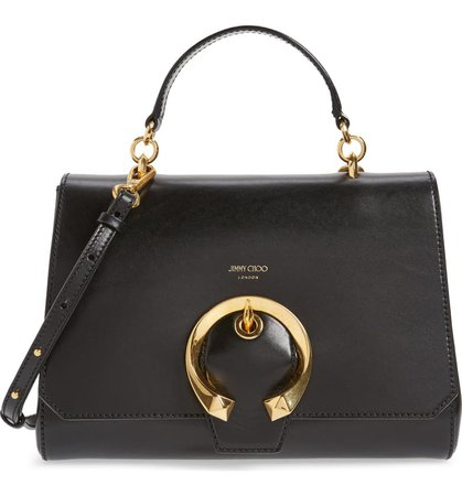 Jimmy Choo Madeline Leather Top Handle Bag | Nordstrom