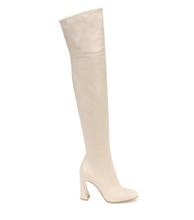 Leather Over-The-Knee Boots - Gianvito Rossi | Mytheresa
