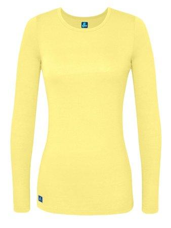 Adar - Adar Women's Comfort Long Sleeve T-Shirt Underscrub Tee, Style 2923 - Walmart.com