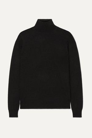 Black Cashmere turtleneck sweater | Joseph | NET-A-PORTER