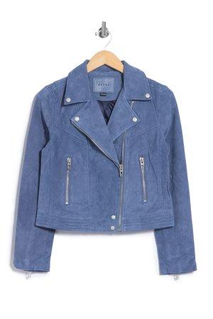 BLANKNYC Denim | Suede Moto Jacket | Nordstrom Rack