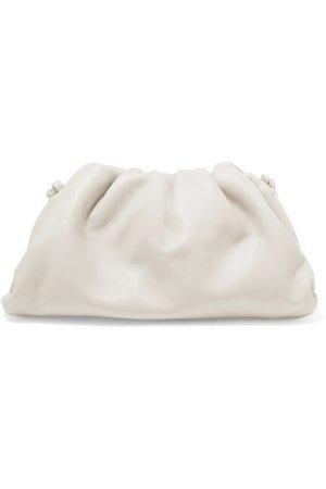 Bottega Veneta | The Pouch mini leather clutch | NET-A-PORTER.COM