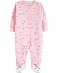 Baby Girl 1-Piece Swan Snug Fit Cotton PJs | Carters.com