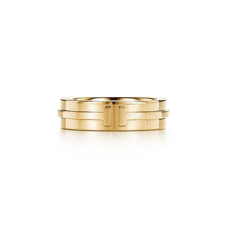 Tiffany T Two ring in 18k gold. | Tiffany & Co.