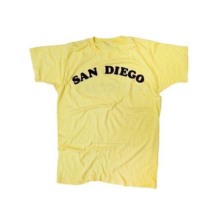 1970s Vintage Tee San Diego Made in USA Butter | Etsy