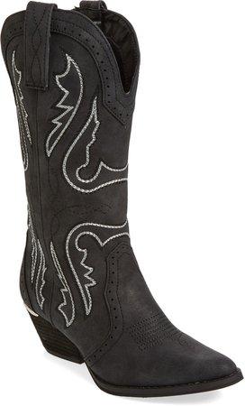 Buckboard Western Boot