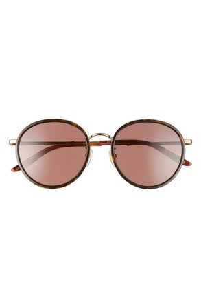 Gucci 55mm Round Sunglasses | Nordstrom