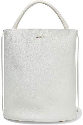 Pebbled-leather Bucket Bag