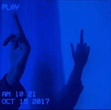 blue sad aesthetic pictures