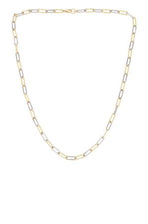 Joy Dravecky Jewelry Studio Link Necklace in Gold | REVOLVE