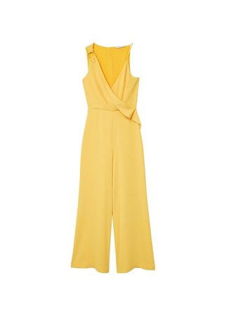 MANGO Ring wrap jumpsuit