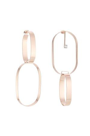 Mixed Loop Earrings Gr. One Size