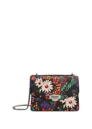 MANGO Floral print bag