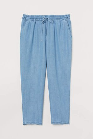 H&M+ Pull-on Pants - Blue