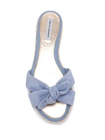 Tabitha Simmons Heli Flat Sandals Ss20