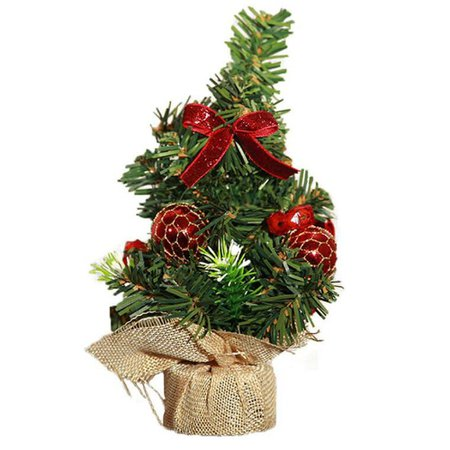 DressLily.com: Photo Gallery - Merry Christmas Tree Decorations Small Mini Artificial Christmas Tree Decorated
