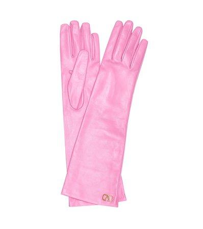 Valentino - Valentino Garavani leather gloves   Mytheresa