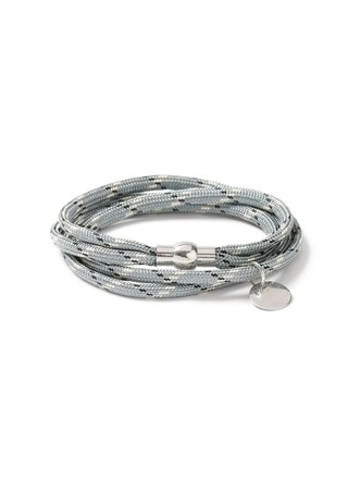 Gray Abseil Bracelet* - TOPMAN USA