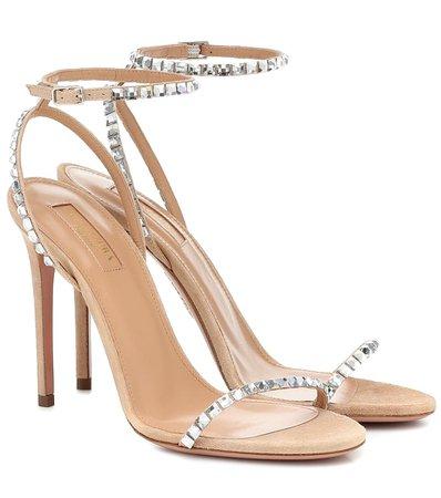 Very Vera 105 Embellished Sandals - Aquazzura | Mytheresa