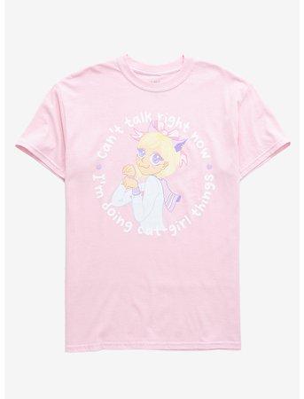Cat Girl Things T-Shirt