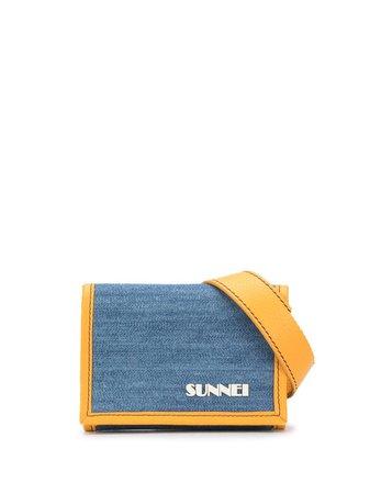 Sunnei Logo Print Trifold Wallet - Farfetch