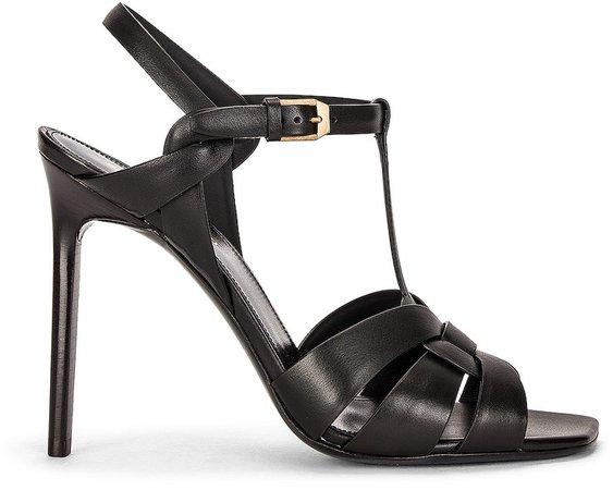 Tribute Sandals in Nero | FWRD