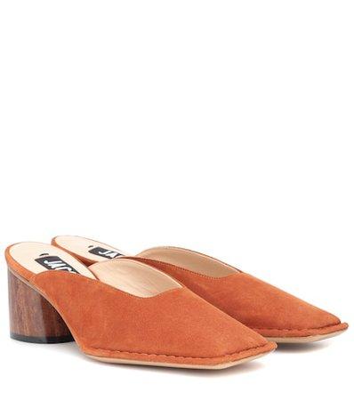 Les mules Sabah leather mules