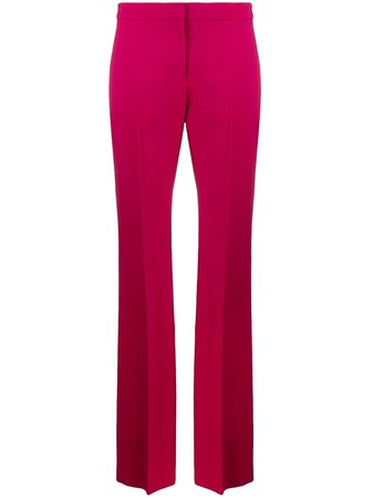 Shop pink Alexander McQueen tailored trousers with Express Delivery - Farfetch