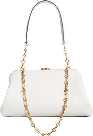 Cleo Leather Shoulder Bag