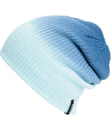 Aurora blue beanie