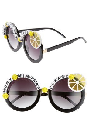 Rad + Refined More Mimosas Sunglasses   Nordstrom