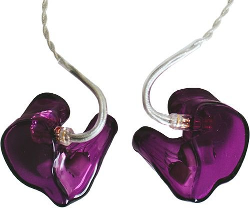 In-ear purple