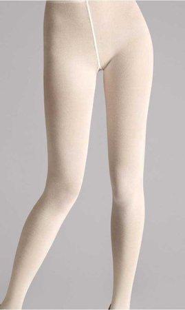 beige tights
