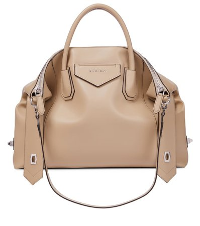 Givenchy - Antigona Soft Medium leather tote   Mytheresa