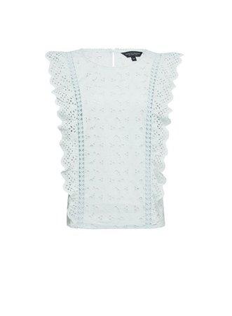 Mint Organic Cotton Shell Top | Dorothy Perkins